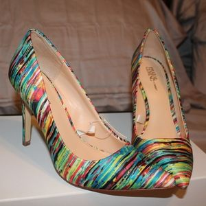 NWT Prabal Gurgung rainbow pumps